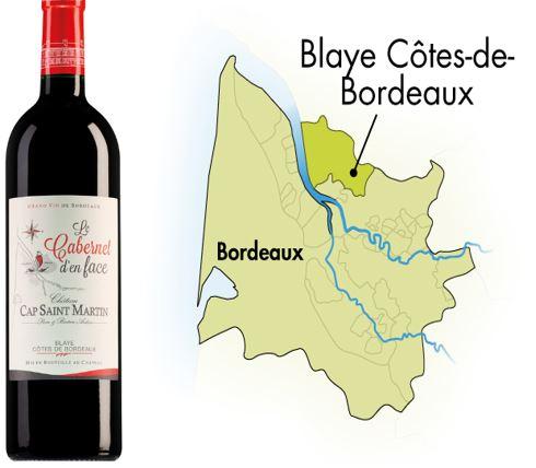 Côte de Blaye: Liefhebbers-Bordeaux 'van de overkant'