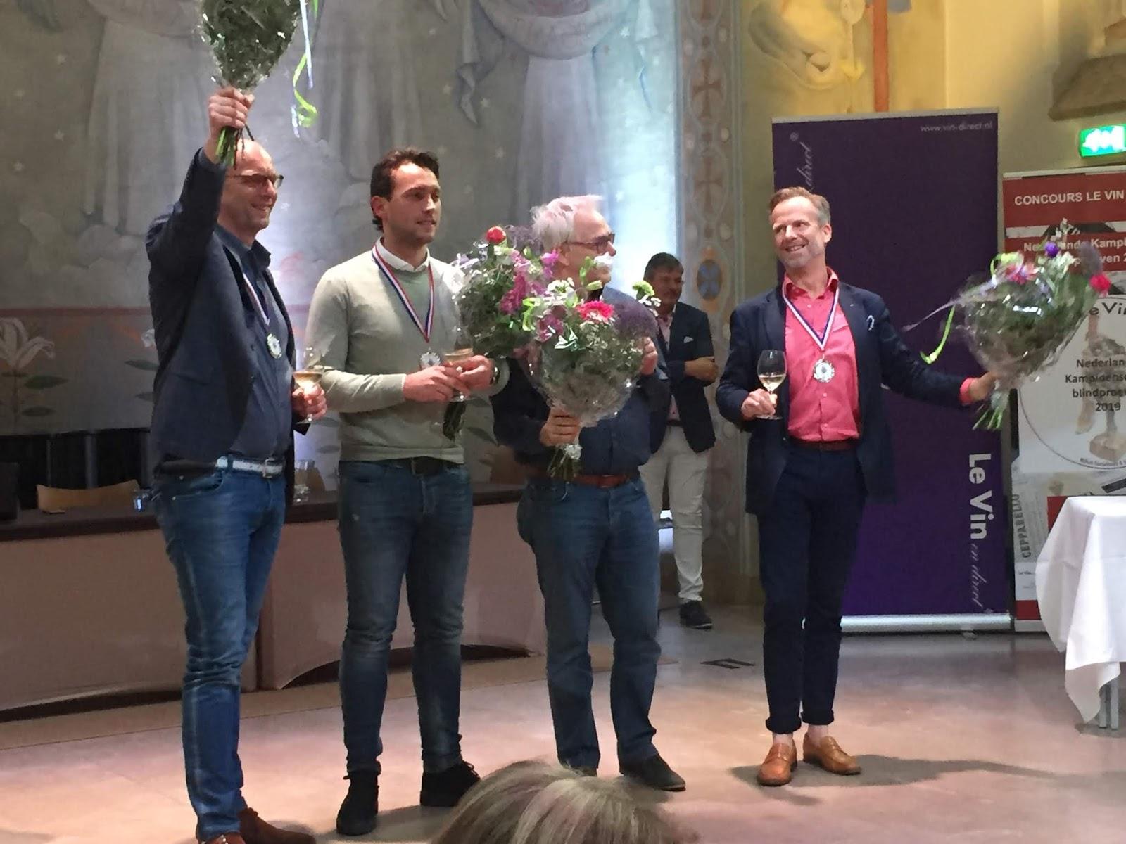 Tweede plaats op het Nederlands Kampioenschap
