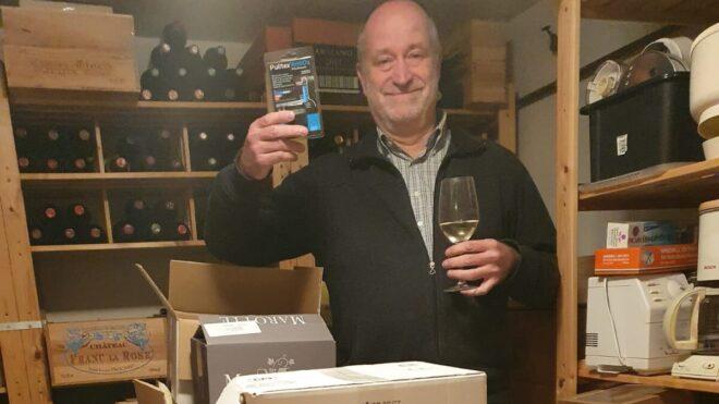 Noel wint wijn kennis quiz
